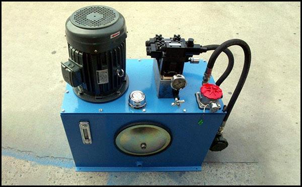 彩瓦机液压站原理