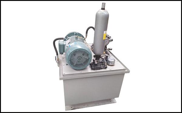 彩瓦机液压站