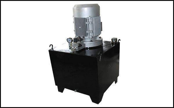 小型平板硫化机液压站原理
