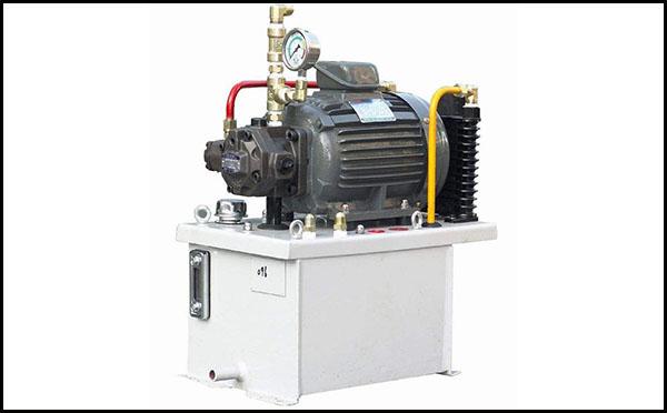 齿轮油泵液压站原理