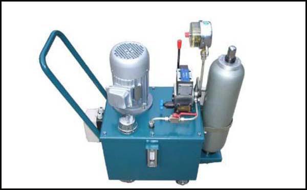风冷卧式电机液压站原理