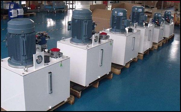 化工油缸液压站原理