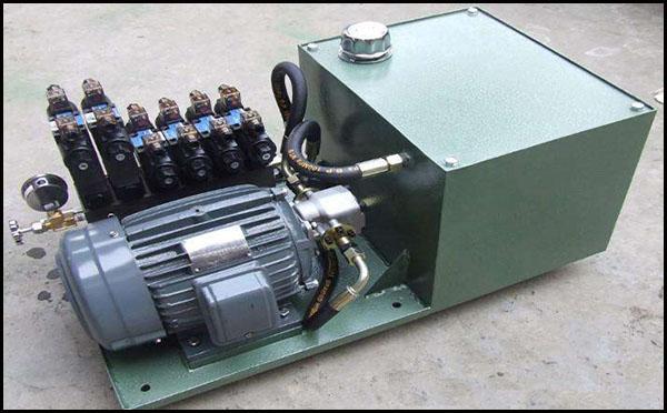 塑料胶片机液压站原理