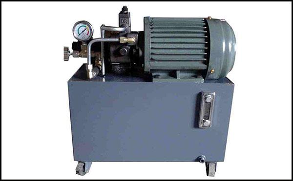 风冷卧式电机液压站