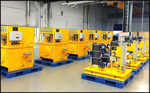 热熔焊机液压站