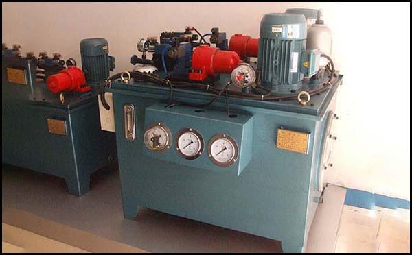 变频电机液压站原理