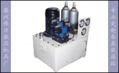 小型油压机多路液压站