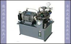 小型液压机液压站