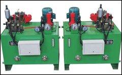 双泵同步液压站